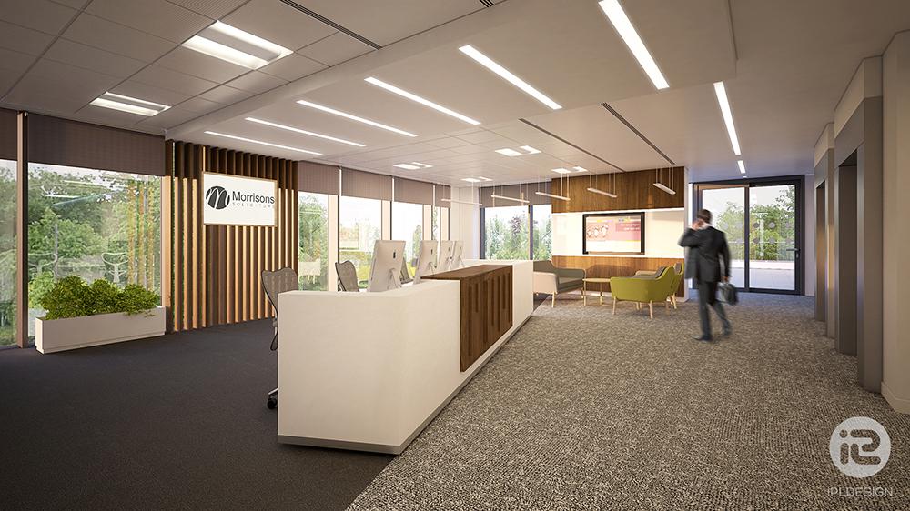 office design 3d visualisation